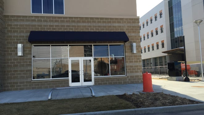 A Starbucks is planned for the DoubleTree Evansville, at Southeast Sixth and Walnut streets.