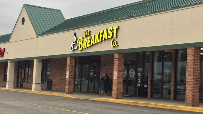 The Breakfast Company opened late 2017. It's located at 1630 Crawfordsville Square Drive, near Kroger.