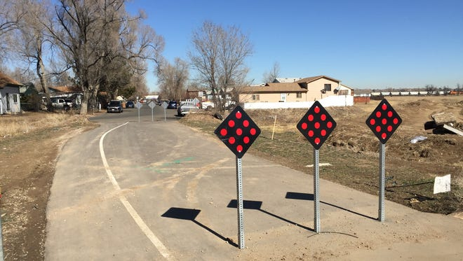 Fort Collins officials have proposed opening a paved connection between the Andersonville neighborhood and Capstone Cottages in north Fort Collins to southbound vehicles.