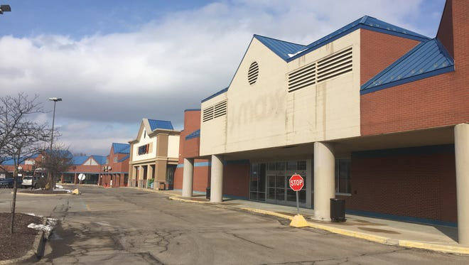 A 28,151-square-foot retail space at 3685 E. Grand River Ave. in Genoa Township near Howell has sat unoccupied for over a year since a T.J. Maxx closed, in this photograph taken Tuesday, March 6, 2018. Family Farm and Home has a plan to open a new store location there, pending township approval.