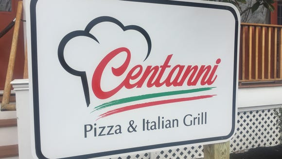 Centanni Pizza & Italian Grill is located in the former