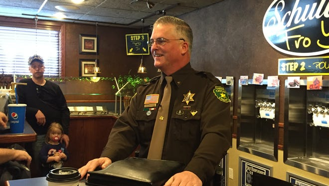 Sheriff Bob Edwards announced Saturday that he will run for re-election as Cascade County Sheriff.