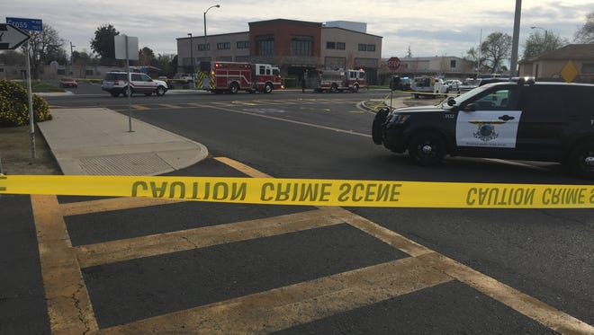 Tulare officers are investigating an officer-involved shooting in Tulare.