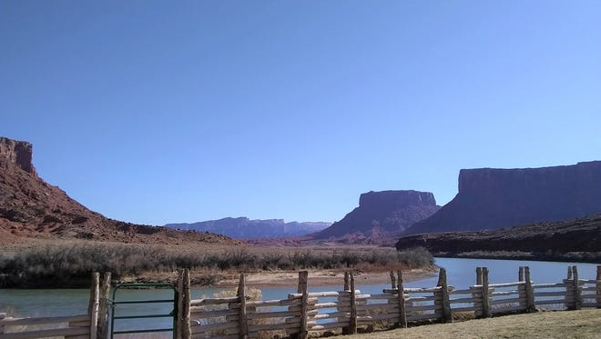 The views from Moab at the first annual SUU ELLI Retreat.