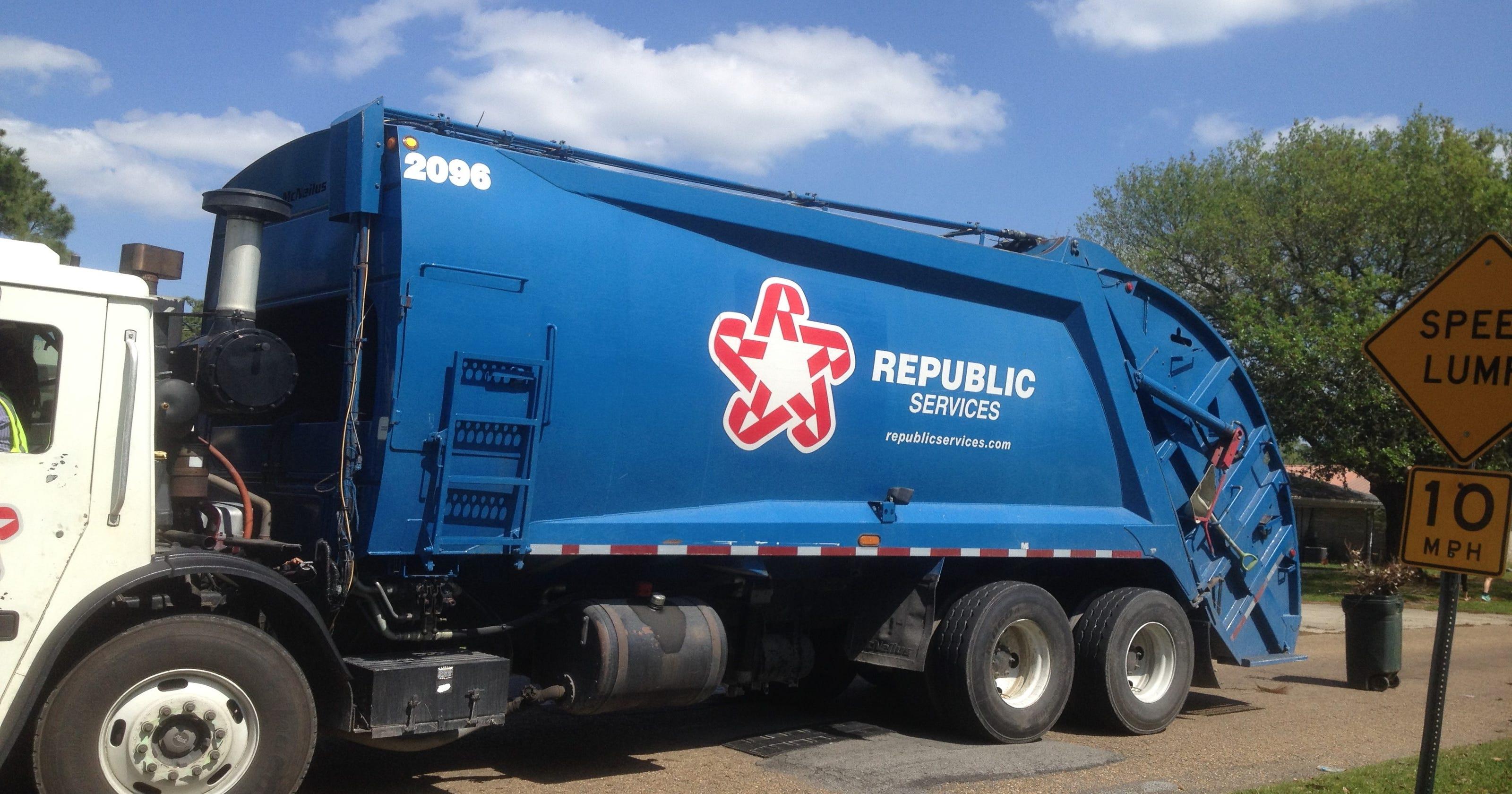Calendar Republic Services : Thanksgiving garbage pickup schedule around lafayette parish