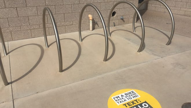 """""""Hello Lamp Post"""" allows people to interact with their surroundings in downtown Mesa."""