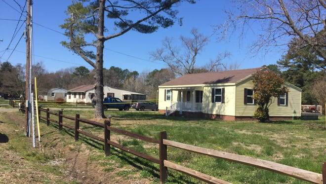 Police were called to this address in Crisfield on Saturday morning for a reported shooting. They said the incident was an apparent attempted murder-suicide; the victim was flown to shock trauma and the suspect is dead.