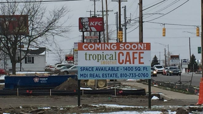 Tropical Smoothie Cafe in Delta Twp. is set to open in June, while franchise owners plan to open two more locations in Lansing and  Okemos.