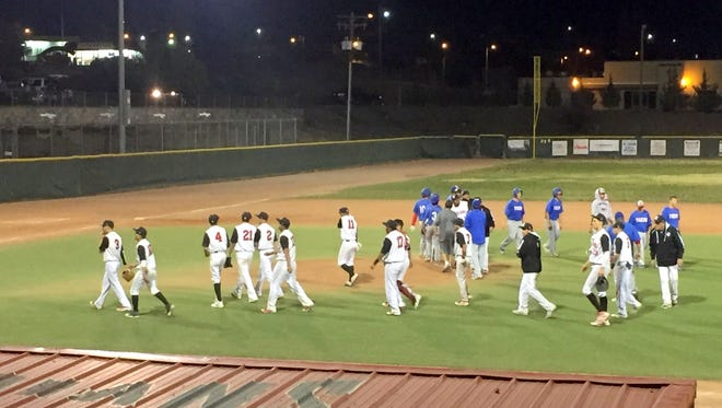 The Cobre baseball team wrapped up an 11-7 win over Hot Springs to close out last week's action. The Indians had to withstand a 6-run rally from the Tigers to pick up the victory.
