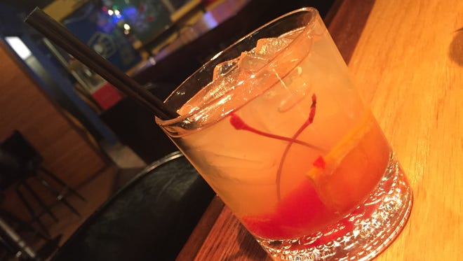 Old fashioned at Wisco Grub and Pub