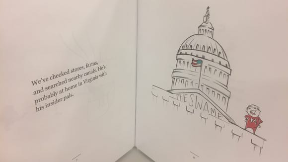 Todd Rokita's U.S. Senate campaign has produced a children's book targeting rival Luke Messer.