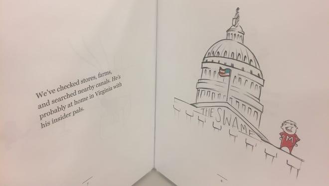 Todd Rokita's U.S. Senate campaign has produced a children's book targeting rival Luke Messer.