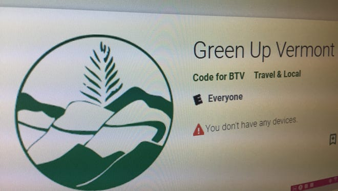 Code for BTV volunteers created an app for Green Up Day 2018.