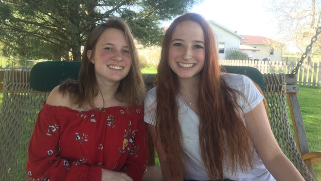 Twin sisters Abby and Ally Sedziol both completed the College Credit Plus program while attending Licking Heights High School.