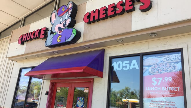 Chuck E Cheese's and Fort Collins Furniture and Mattress at the corner of Prospect Road and College Avenue will have to move to make way for a proposed six-story hotel.