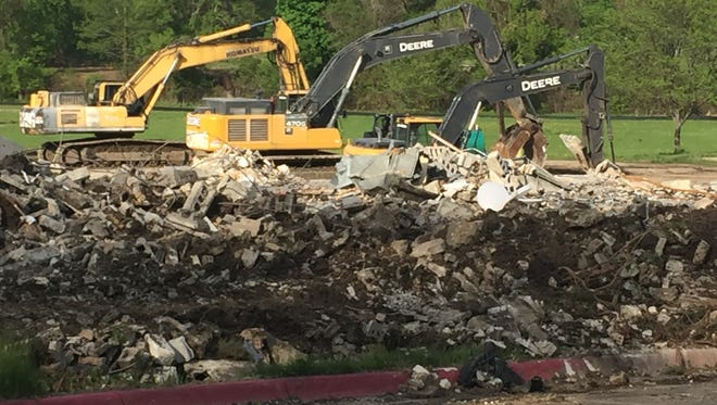 Windermere View Elementary School in Lansing Township is being torn down and will be left as green space. It was built in 1959.