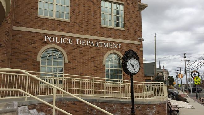 Lavallette police headquarters at the borough municipal building.