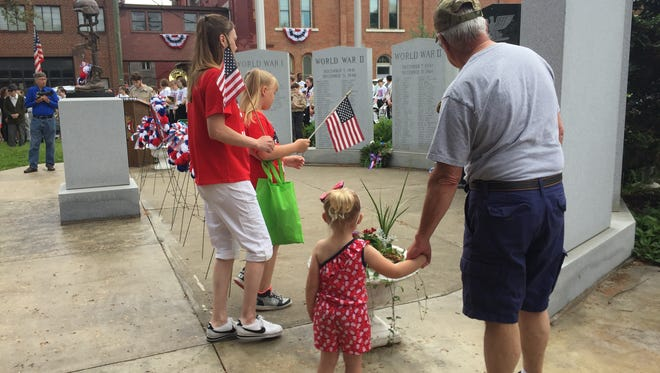 Scenes from Owego's Memorial Day Parade and Remembrance Service May 28, 2018.