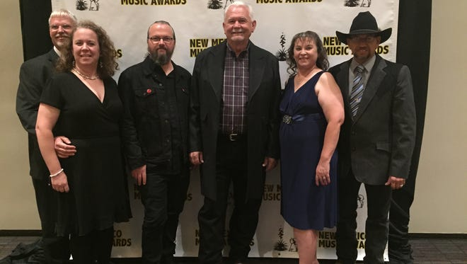 From left to right: Mark Hellman, Julie Hellman, Christopher Adams, Gary Johnson, Angela Cano and Robert Cano.