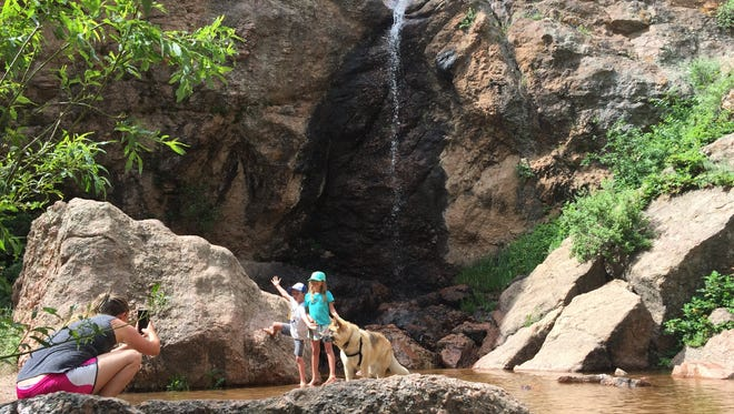 Horsetooth Falls is a great place to take the kids when school is out. But don't wait too long as the falls dry up later in the summer.