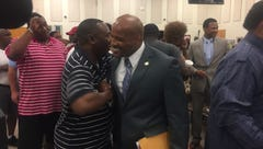 SCS board upholds termination of football coach Teli White in grade tampering scandal