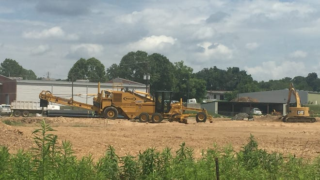 """A Gastonia developer will build a 168-unit apartment complex called """"The Groves at Town Center"""" on this site in Fletcher."""