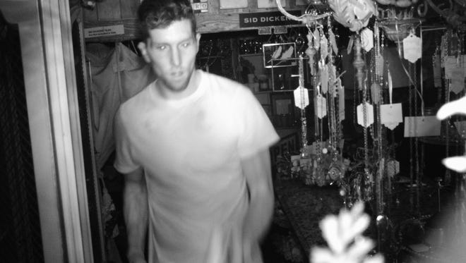 Waukesha County Sheriff are looking for this man who burglarized Lenarduzzi Interiors Atelier in Pewaukee