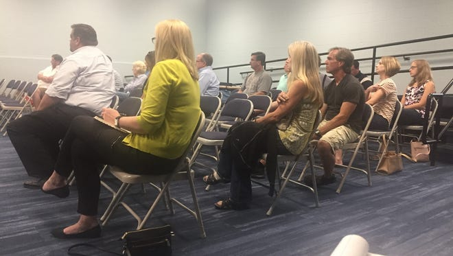 "About 20 people attended the fourth and final Granville Schools community ""Funding Forum."" Board members will decide July 9 whether or not to place another funding issue on the fall ballot."