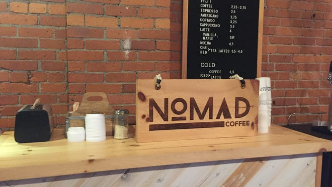 Nomad Coffee is open in a new space at 208 Flynn Avenue in Burlington on Thursday, July 5, 2018. The coffee shop plans to add food to its beverage lineup after construction is complete later this month.