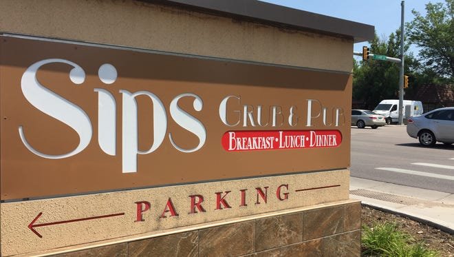 Sips Grub & Pub will open in mid-July at the corner of College Avenue and Stuart Street.