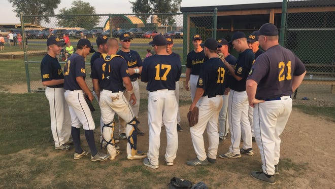 The Richland Legion baseball team discusses Friday's 14-4 rout of Campbelltown that earned it a shot in Saturday night's :Lebanon County championship game against Fredericksburg.