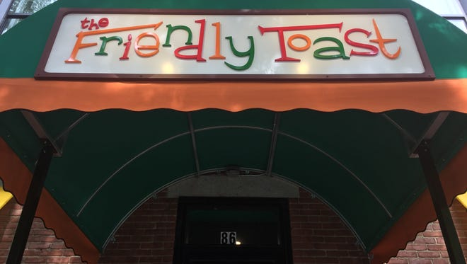 The Friendly Toast, a regional late-night breakfast eatery, opens the doors to the public at its Burlington, Vermont, location, 86 St Paul St., on Monday, July 16, 2018, after a limited seating for friends and family over the weekend.