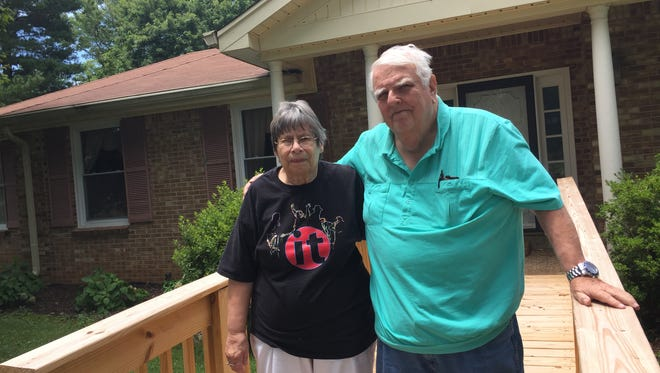 Connie and Roland Weller paid their county property tax in cash only to discover a year later that a deputy trustee was accused of stealing it.