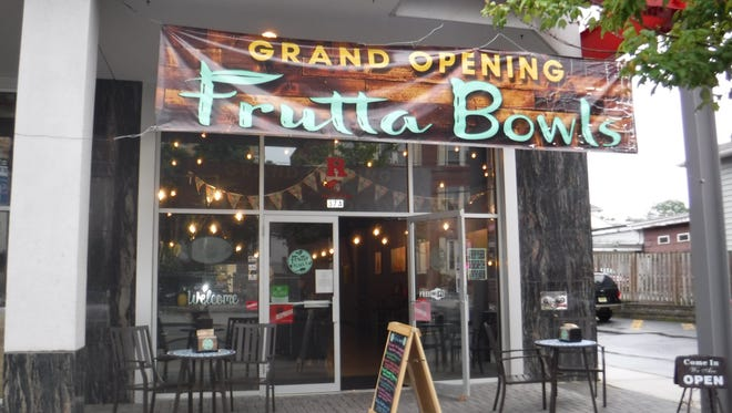 "The ""Frutta Bowls"" franchise remains the only eatery open at 37 Easton, but two others are coming soon. One, New Jersey's first ""BurgerIM"" is set to open in a couple of weeks."