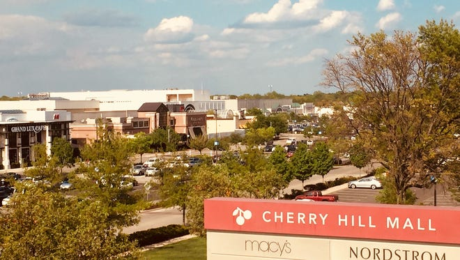 The owner of Cherry Hill Mall reported a net loss of $32.3 million for its latest quarter, but said that was better than a year earlier.