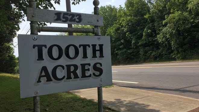 Tooth Acres on Madison Drive is a quirky name for a home once owned by a dentist.