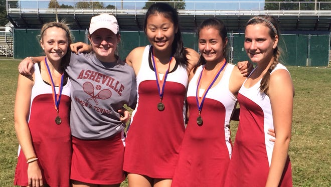Five Asheville High tennis players have qualified for next week's NCHSAA 3-A tournament in Burlington.