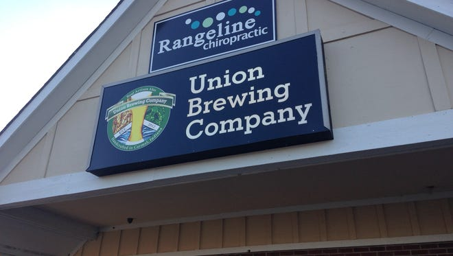 Union Brewing Co. is in the Monon Square Shopping Center in Carmel.