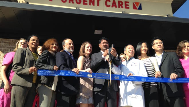 Owners and staff hold an open house Tuesday at Eastside Urgent Care in Montgomery.