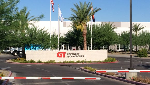 The GTAT factory in Mesa will be shut down by the end