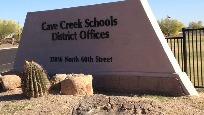 The Cave Creek Unified School District main administrative offices are at 33016 N. 60th St., Scottsdale.