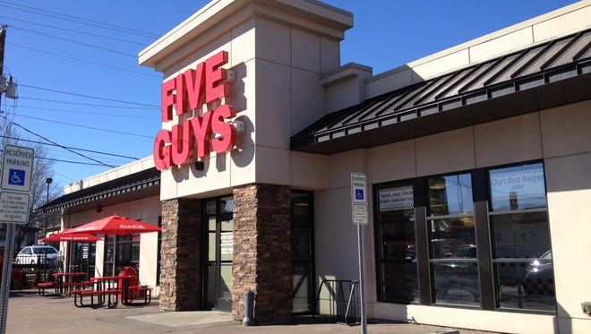 Five Guys opened last year at 10th Street and Minnesota Avenue