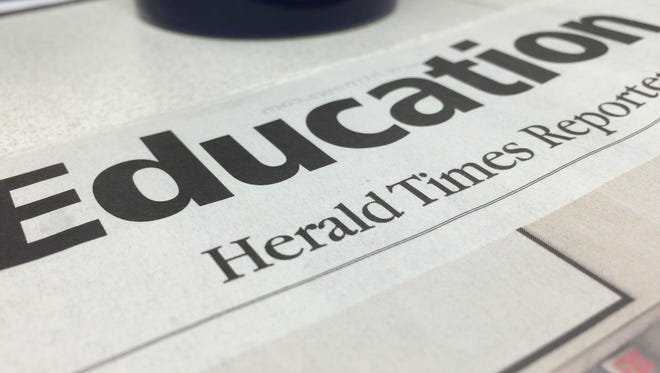 The education section of the Herald Times Reporter.