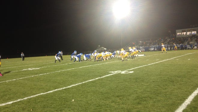 Denmark plays at Wrightstown in a WIAA Division 4 second-round playoff game.