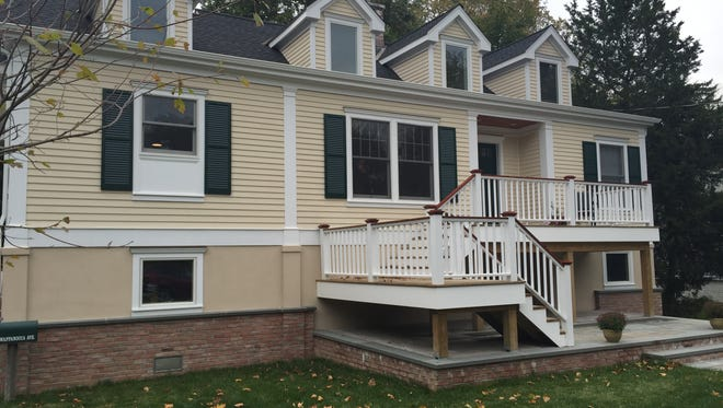 Kristin Murphy and her husband were able to move back into their home on Wappanocca Avenue in Rye last December after a 6-month construction process that raised the house 8 feet off the ground. Like many homeowners who are elevating their homes, they enlarged the house, too.