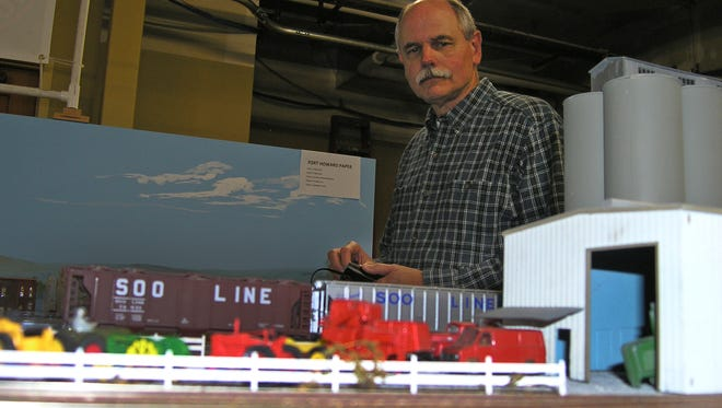 """Model railroading """"gets embedded in your psyche and never goes away,"""" said club member Jack Mason."""
