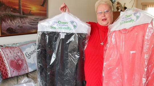 Press On Your Side helped Brick resident Kathleen Decker reclaim her clothes after her dry cleaner, Quality Cleaners in the Arrowheart Shopping Center in Brick, closed up shop unexpectedly.