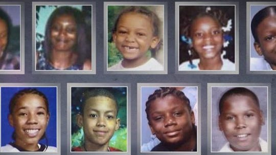 Medeia Carter, 33, four of her children and four other children attending a 14th-birthday sleepover died on May 21, 2005, in the deadliest fire in Cleveland's history.