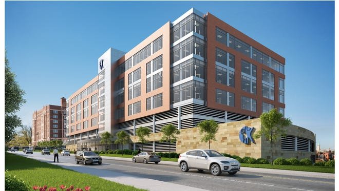 A rendering of the Offices at Vernon Place development in Avondale.