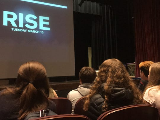 """On March 6, theater kids in Hastings gathered to hear details about """"The Hairspray Project"""" and the $10,000 """"R.I.S.E. America"""" grant from NBC to help produce a multi-school production of """"Hairspray"""" in February 2019. Auditions will be held Oct. 22-24, 2018."""